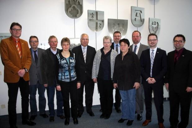 Der Dialog stand im Vordergrund beim Jahresgespräch der Arbeitsgemeinschaft der Träger der Freien Wohlfahrtspflege mit Landrat Dr. Karl Schneider (Foto: Pressestelle Hochsauerlandkreis).
