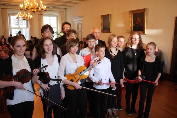 Photo of Junge Preisträger zeigten ihre musikalische Stärken