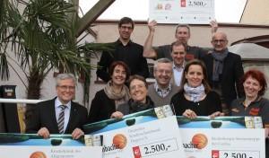 Krombacher Challenge 2013 brachte 10.000 Euro ein
