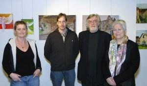 Hobby- und Nachwuchskünstler zeigen Werke im Kreishaus