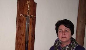 Das Schwert Karls des Großen zurück in Obermarsberg