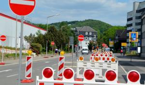 """Kanalbauarbeiten in Mescheder Straße """"Am Drüerberg"""""""