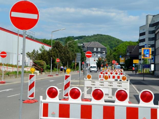 """Photo of Kanalbauarbeiten in Mescheder Straße """"Am Drüerberg"""""""