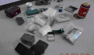 Kriminalkommissariat stellt ein Kilogramm Haschisch sicher