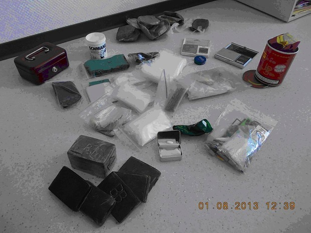 Photo of Kriminalkommissariat stellt ein Kilogramm Haschisch sicher