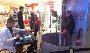 Musikalisches Valentinstags-Geschenk: Singbox im Stern-Center