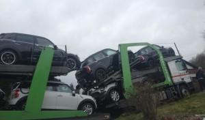 Lkw-Fahrer von Navigationsgerät in die Irre geleitet