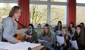 Weiterer Gesangsworkshop mit Bernd Klüser