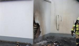 Lippstadt: Brennender Papiercontainer gemeldet