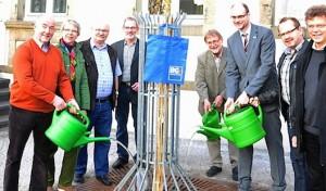 Apfeldorn zum Geburtstag: BG Lippstadt stiftet zwei Bäume