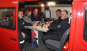Wilnsdorfer Feuerwehr funkt Startbereitschaft