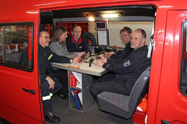 Photo of Wilnsdorfer Feuerwehr funkt Startbereitschaft