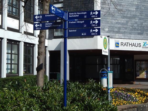 Photo of Neues Fußgängerleitsystem in Hilchenbach