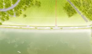 Dammkrone: Pläne für Umgestaltung überarbeitet