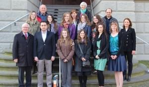 Kanadische Studenten zu Gast in Geseke-Eringerfeld