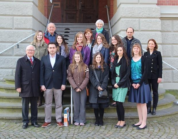 Photo of Kanadische Studenten zu Gast in Geseke-Eringerfeld