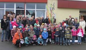 U3-Ausbau: Kindergarten Bieberburg feiert Richtfest