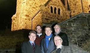 Außenbeleuchtung der evangelischen Kirche erneuert