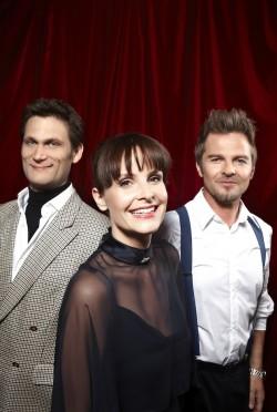Das Ensemble: Heiko Seidel, Maike Kühl und Christian Ehring (von links) - Quelle: Kulturamt Kreuztal