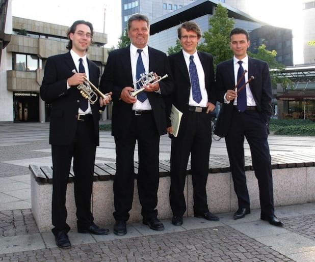 Das Leipziger Ensemble T.O.P. (Foto: Touristik GmbH Möhnesee).