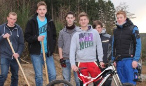 Attendorn: Der Mountainbikepark entsteht