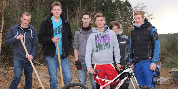 Photo of Attendorn: Der Mountainbikepark entsteht