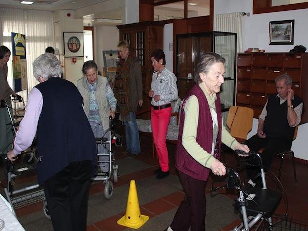 Photo of Rollatortraining im Seniorenhaus St. Liborius
