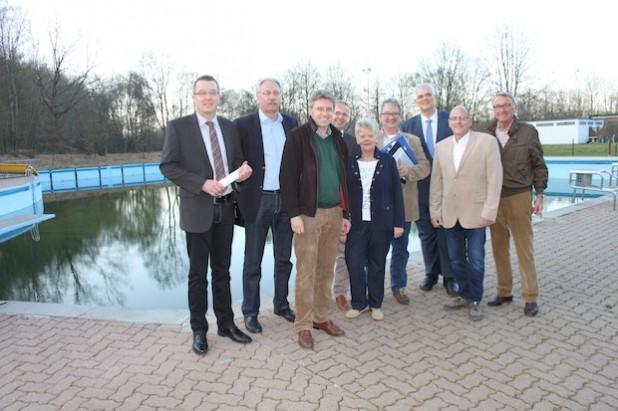 Die Lenkungsgruppe (Foto: Stadt Arnsberg).