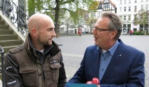 Die glücklichen Gewinner des Lippstädter Entenrennens 2014