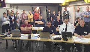 Altena versinkt im Jahrhunderthochwasser – Krisenstab übt