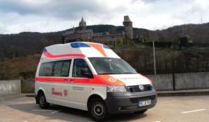 Johanniter fuhren zum letzten Mal Rettungsdienst in Altena