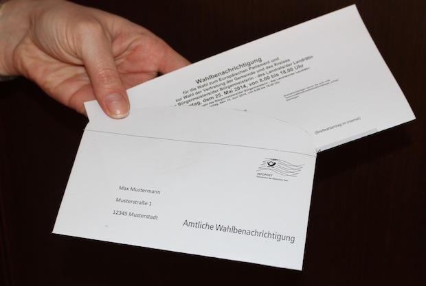 Photo of Wahlbenachrichtigungen für die Europa- und Kommunalwahlen