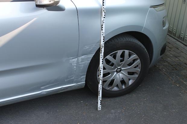 Photo of Parkendes Fahrzeug beschädigt und geflüchtet