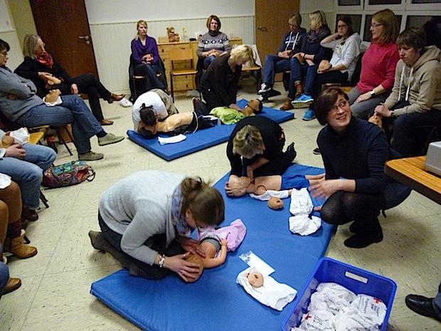 Photo of Erste-Hilfe-Kurs für Erziehungspersonen