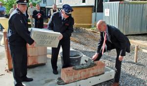 Grundsteinlegung für neues Feuerwehrgerätehaus