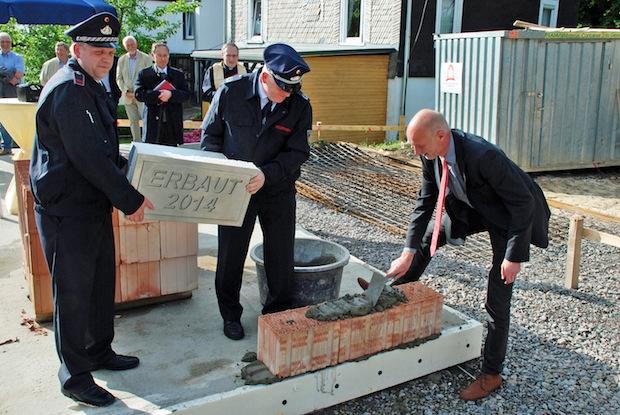 Photo of Grundsteinlegung für neues Feuerwehrgerätehaus