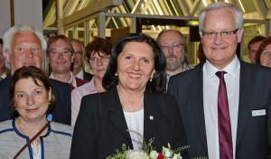 Landrätin Eva Irrgang wiedergewählt