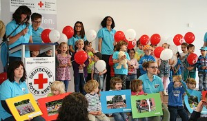 DRK-Kindergarten Mozartstraße stellt U3-Anbau vor