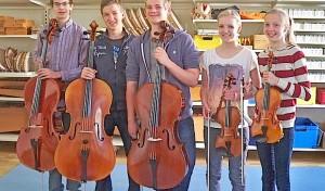 Elf junge Musiker schaffen den Sprung ins MJO