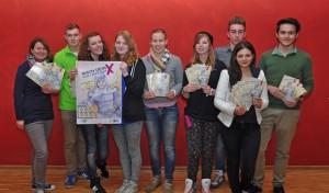 Jugendliche entwerfen Flyer zur Kommunalwahl