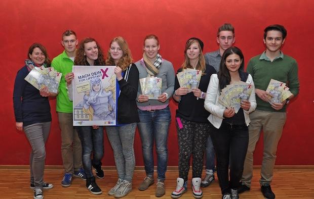 Photo of Jugendliche entwerfen Flyer zur Kommunalwahl