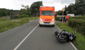 Warstein-Niederbergheim: Motorradfahrer schwer verletzt