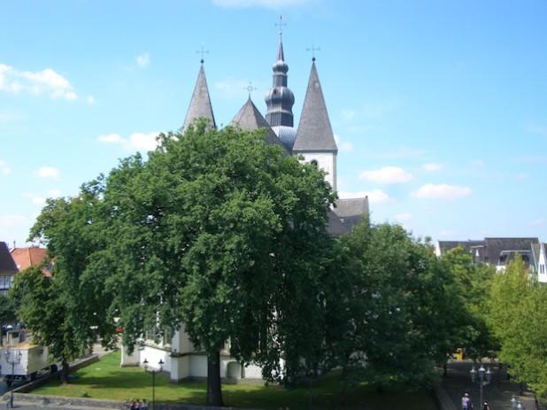 Die Marienkirche (Foto: Stadt Lippstadt).