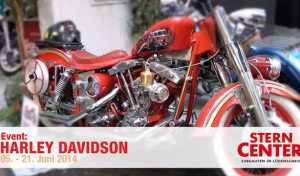Stern-Center: Harley-Davidson-Ausstellung im Video