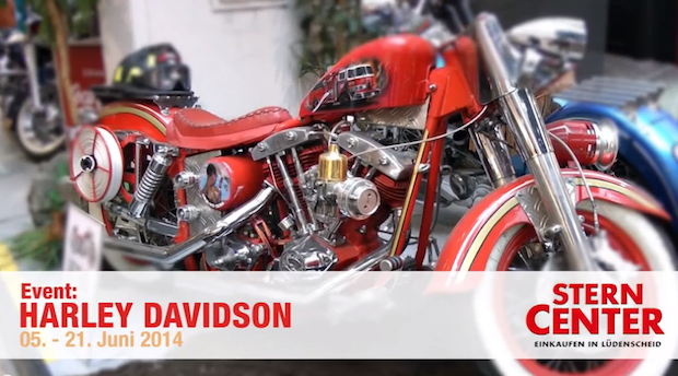 Photo of Stern-Center: Harley-Davidson-Ausstellung im Video