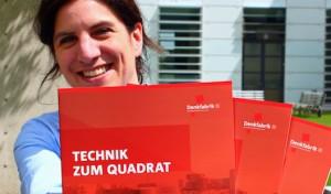 """""""Technik zum Quadrat"""" – Neue Broschüre über die Denkfabrik"""