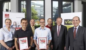 DKMS dankt Viega-Geschäftsführung und Spendern