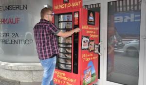 Pünktlich zur WM: Metten-Wurst auf Knopfdruck
