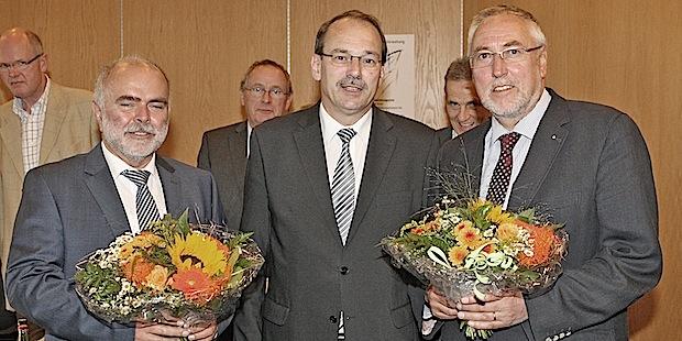 Photo of Landrat Thomas Gemke ins Amt eingeführt