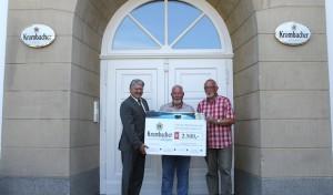 Kreuztal: Krombacher spendet 2.500 Euro